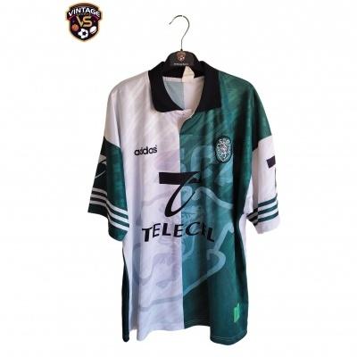 """Sporting CP Third Shirt 1996-1997 (XL) """"Very Good"""""""