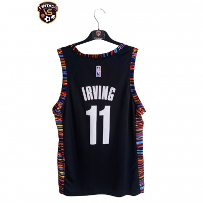 "Retro Brooklyn Nets NBA Jersey Swingman #11 Irving (44) ""Very Good"""