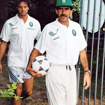 "ISSUE Sporting CP Coach Polo Shirt 1994-1995 (XL) ""Very Good"""