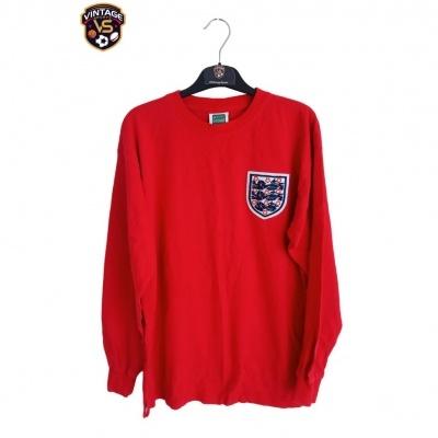"""Official Retro England Away Shirt L/S 1966 #6 (M) """"Very Good"""""""