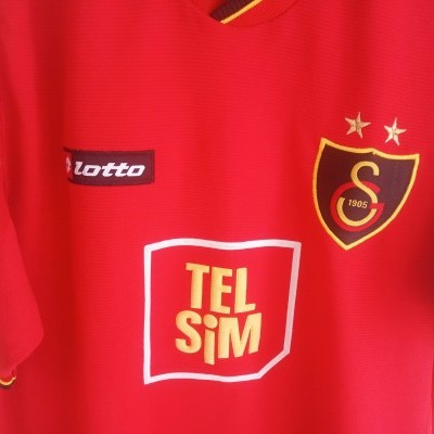 "Galatasaray SK Third Shirt 2001-2002 (L) ""Very Good"""