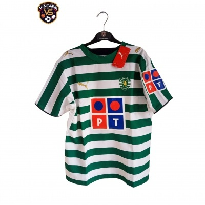 NEW Sporting CP Home Shirt 2006-2007 (M)