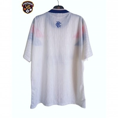 "Glasgow Rangers FC Away Shirt 1990-1992 (L) ""Very Good"""
