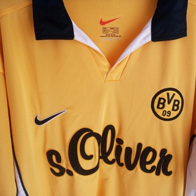 "BVB Borussia Dortmund Home Shirt 1998-2000 (L) ""Very Good"""