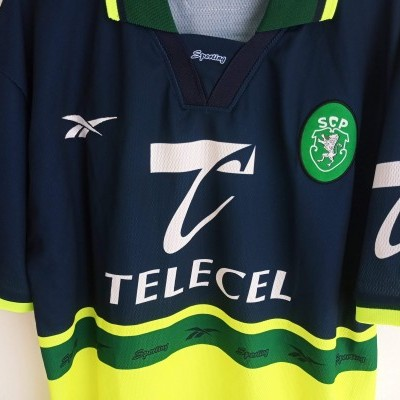 "Sporting CP Away Shirt 1998-1999 (L) ""Perfect"""