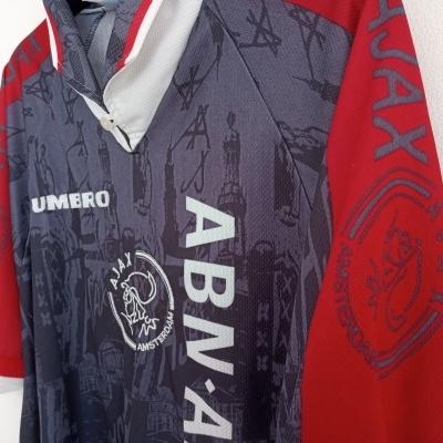 "Ajax Amsterdam Away Shirt 1996-1997 (XL) ""Very Good"""