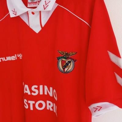"SL Benfica Home Shirt 1993-1994 (L) ""Very Good"""