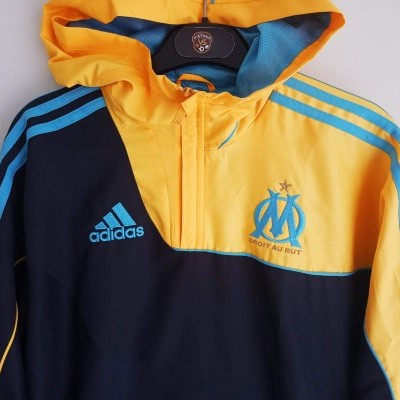 "OM Olympique Marseille Windbreaker Jacket 2010-2011 (S) ""Very Good"""