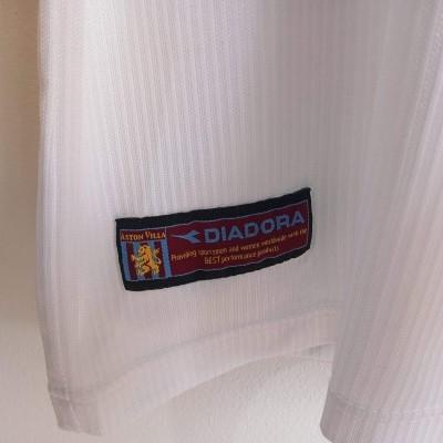 "Aston Villa FC Away Shirt 2002-2003 (M) ""Very Good"""
