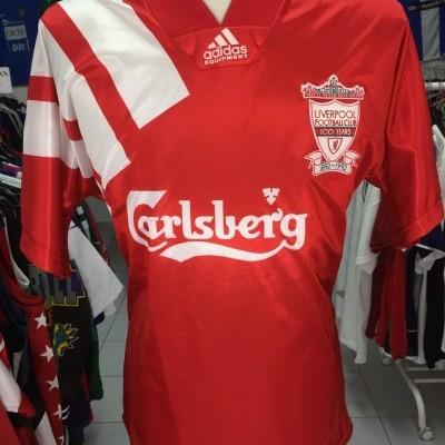 Centenary Liverpool FC Home Shirt 1992-93 (M)