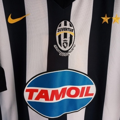 "FAN Juventus Home Shirt 2005 #11 Nedved (XL) ""Very Good"""