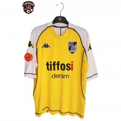 "Matchworn Vitoria Guimarães Away Shirt 2004 #55 Alexandre (L) ""Very Good"""