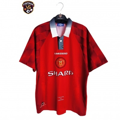 "Manchester United Home Shirt 1996-1998 (L) ""Very Good"""