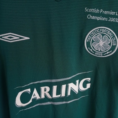 "Celtic Glasgow FC Away Shirt 2004-2005 Champions (M) ""Good"""