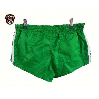 "Vintage Shorts Adidas 1980s Green White (M) ""Very Good"""