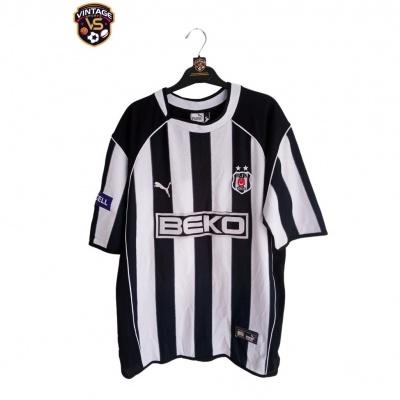 """Signed Besiktas JK Home Shirt 2003-2004 (XL) """"Good"""""""