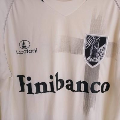 "Matchworn Vitoria Guimarães Home Shirt 2008-2009 #25 (L) ""Very Good"""