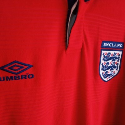 "England Away Shirt 1999-2001 (XXL) ""Very Good"""
