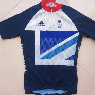 "Team GB Great Britain Cycling Shirt London 2012 (M) ""Very Good"""