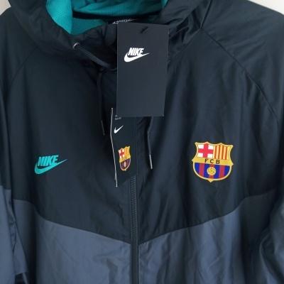 NEW FC Barcelona Windrunner Hoodie Jacket 2019-2020 (XXL)