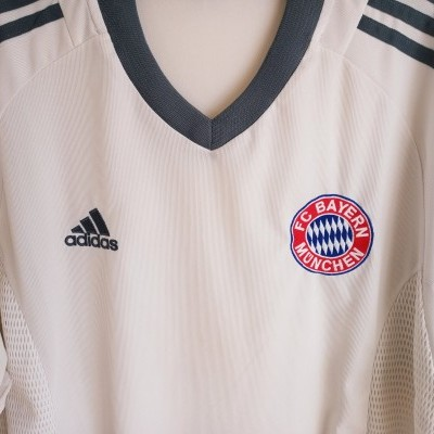 "Bayern Munich Away Shirt 2002-2003 (XL) ""Good"""