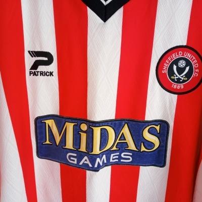 "Sheffield United FC Home Shirt 2000-2002 (XXL) ""Very Good"""