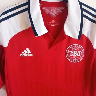 "Denmark Home Shirt Player Issue 2012 (L) ""Good"""
