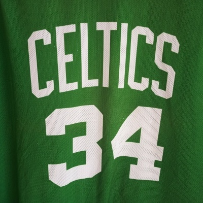 "Boston Celtics NBA Home Jersey #34 Pierce (XXL) ""Good"""
