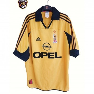 "AC Milan Centenary Shirt Gold 1999-2000 (L) ""Very Good"""