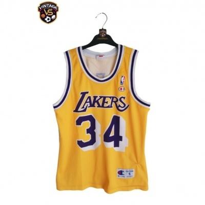 "LA Los Angeles Lakers NBA Jersey Shirt #34 O'Neal (S) ""Average"""