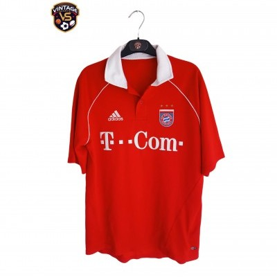 "Bayern Munich Home Shirt 2005-2006 (M) ""Very Good"""
