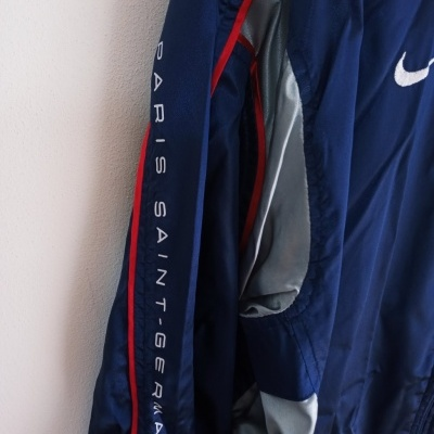 "Paris SG PSG Windbreaker Jacket 2001-2002 (M) ""Very Good"""