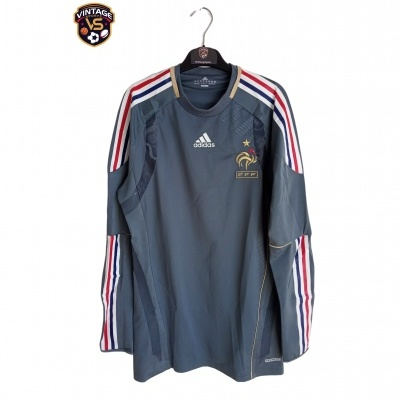 "France Goalkeeper Shirt 2010-2012 Player Issue (XL) ""Perfect"""