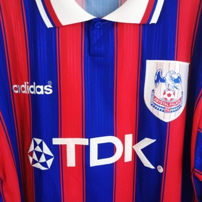 "Crystal Palace Home Shirt 1996-1998 (XL) ""Very Good"""