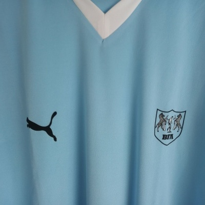 "Matchworn Botswana Home Shirt #6 (XL) ""Very Good"""
