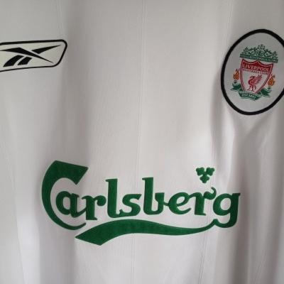 "Liverpool FC Away Shirt L/S 2003-2005 (XL) ""Very Good"""