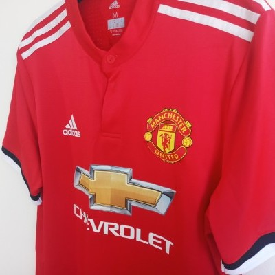 "Player Version Manchester United Home Shirt 2017 #6 Pogba (M) ""Good"""
