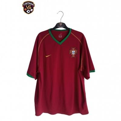"Portugal Home Shirt 2006-2008 (XL) ""Very Good"""