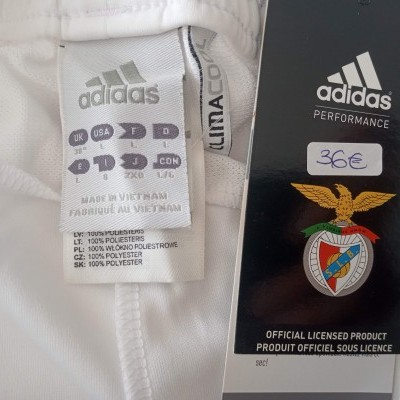 NEW SL Benfica Home Shorts 2010-2011 (L)