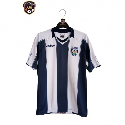 "WBA West Bromwich Albion FC Home Shirt 2008-2009 (S) ""Good"""