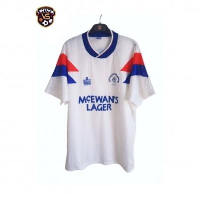 "Glasgow Rangers FC Away Shirt 1990-1992 (L) ""Very Good"""