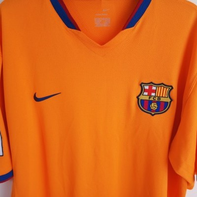 "FC Barcelona Away Shirt 2006-2008 (XL) ""Very Good"""