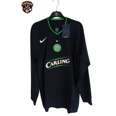 NEW Celtic Glasgow FC Third Long Sleeve Player Issue Shirt 2005-2007 (M)