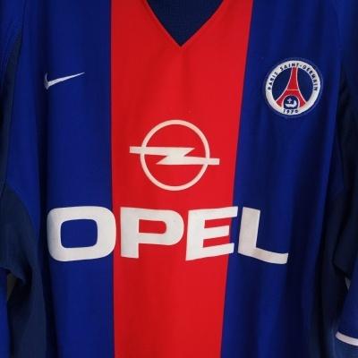 "Paris SG PSG Home Shirt 2000-2001 (XL) ""Very Good"""