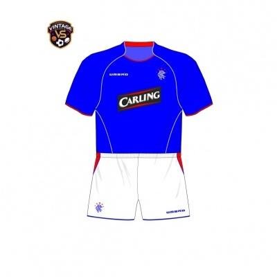 NEW Glasgow Rangers FC Home Shirt 2005-2006 (S)