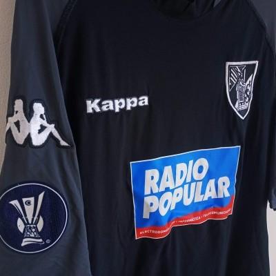 "Matchworn Vitoria Guimarães Uefa Shirt 2005 #22 Manoel (XL) ""Very Good"""