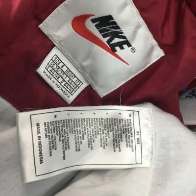 Vintage Track Top Nike 1990s (S) Red Blue Jacket