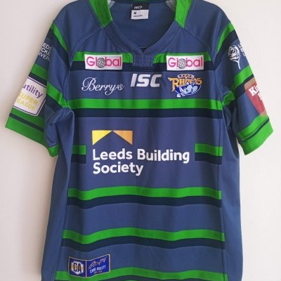 "Leeds Rhinos Rugby Away Shirt 2016 (M) ""Very Good"""