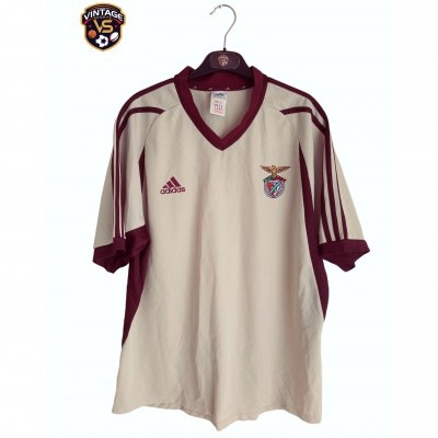 "SL Benfica Away Shirt Without Sponsor 2001-2002 (L) ""Very Good"""