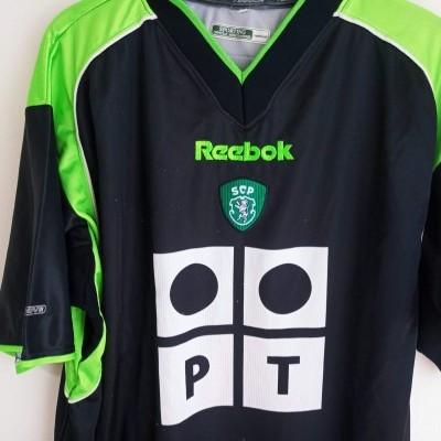 """Sporting CP Away Shirt 2001-2002 (L) """"Good"""""""